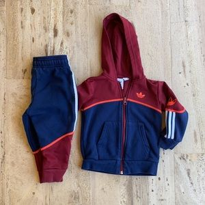 Adidas Boy's Tracksuit  Size 2T